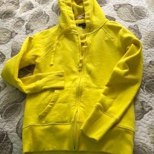 GAP Yellow sweatshirt hoodie New sz Small
